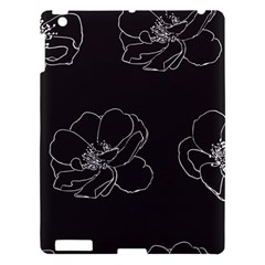 Rose Wild Seamless Pattern Flower Apple Ipad 3/4 Hardshell Case by Nexatart