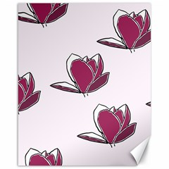 Magnolia Seamless Pattern Flower Canvas 16  x 20