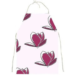 Magnolia Seamless Pattern Flower Full Print Aprons