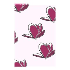 Magnolia Seamless Pattern Flower Shower Curtain 48  x 72  (Small)