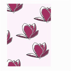 Magnolia Seamless Pattern Flower Large Garden Flag (two Sides) by Nexatart