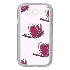 Magnolia Seamless Pattern Flower Samsung Galaxy Grand DUOS I9082 Case (White)