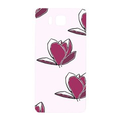 Magnolia Seamless Pattern Flower Samsung Galaxy Alpha Hardshell Back Case