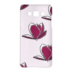 Magnolia Seamless Pattern Flower Samsung Galaxy A5 Hardshell Case