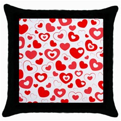 Cards Ornament Design Element Gala Throw Pillow Case (black) by Nexatart