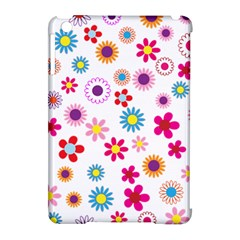 Floral Flowers Background Pattern Apple Ipad Mini Hardshell Case (compatible With Smart Cover) by Nexatart