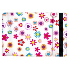 Floral Flowers Background Pattern Ipad Air Flip by Nexatart