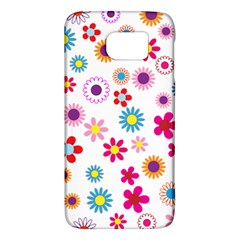 Floral Flowers Background Pattern Galaxy S6