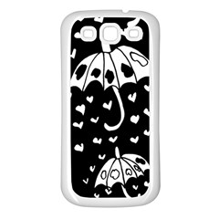 Mandala Calming Coloring Page Samsung Galaxy S3 Back Case (white) by Nexatart