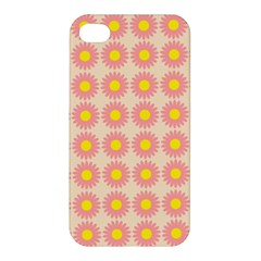 Pattern Flower Background Wallpaper Apple Iphone 4/4s Premium Hardshell Case