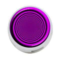 Background Coloring Circle Colors 4 Port Usb Hub (two Sides)