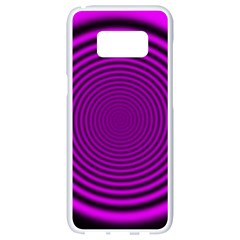 Background Coloring Circle Colors Samsung Galaxy S8 White Seamless Case by Nexatart