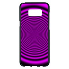 Background Coloring Circle Colors Samsung Galaxy S8 Plus Black Seamless Case