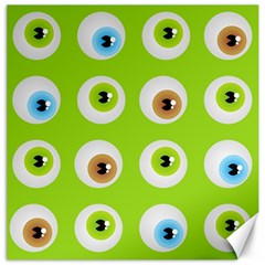 Eyes Background Structure Endless Canvas 16  X 16   by Nexatart