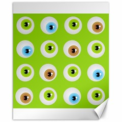 Eyes Background Structure Endless Canvas 16  X 20