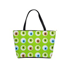 Eyes Background Structure Endless Shoulder Handbags by Nexatart