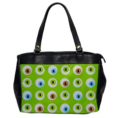 Eyes Background Structure Endless Office Handbags by Nexatart