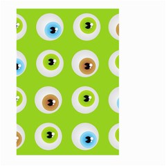 Eyes Background Structure Endless Large Garden Flag (two Sides)