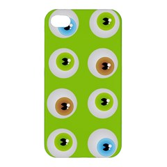Eyes Background Structure Endless Apple Iphone 4/4s Premium Hardshell Case