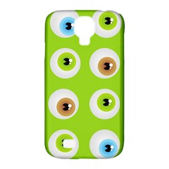 Eyes Background Structure Endless Samsung Galaxy S4 Classic Hardshell Case (pc+silicone) by Nexatart