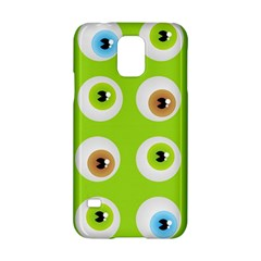 Eyes Background Structure Endless Samsung Galaxy S5 Hardshell Case  by Nexatart