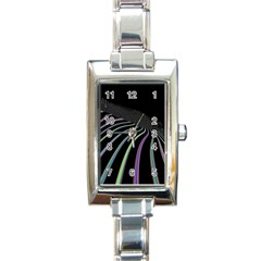 Graphic Design Graphic Design Rectangle Italian Charm Watch by Nexatart