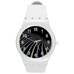Graphic Design Graphic Design Round Plastic Sport Watch (m) by Nexatart