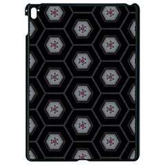 Mandala Calming Coloring Page Apple Ipad Pro 9 7   Black Seamless Case