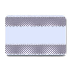 Blue Modern Small Doormat