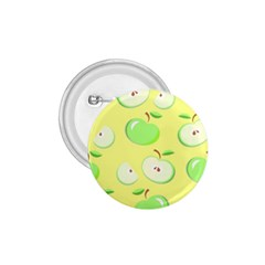 Apples Apple Pattern Vector Green 1 75  Buttons by Nexatart