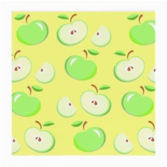 Apples Apple Pattern Vector Green Medium Glasses Cloth