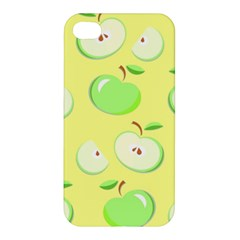 Apples Apple Pattern Vector Green Apple Iphone 4/4s Premium Hardshell Case