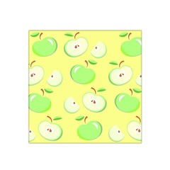 Apples Apple Pattern Vector Green Satin Bandana Scarf