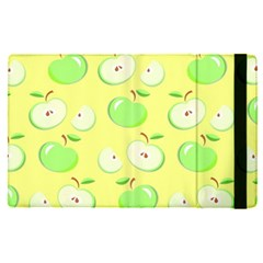 Apples Apple Pattern Vector Green Apple Ipad Pro 12 9   Flip Case by Nexatart