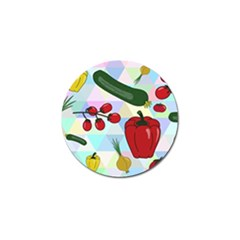 Vegetables Cucumber Tomato Golf Ball Marker (10 Pack) by Nexatart