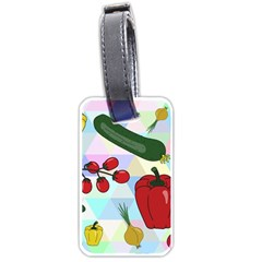 Vegetables Cucumber Tomato Luggage Tags (two Sides)