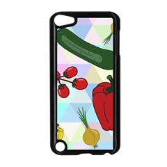Vegetables Cucumber Tomato Apple Ipod Touch 5 Case (black)
