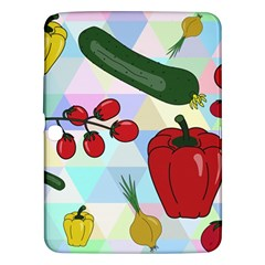 Vegetables Cucumber Tomato Samsung Galaxy Tab 3 (10 1 ) P5200 Hardshell Case