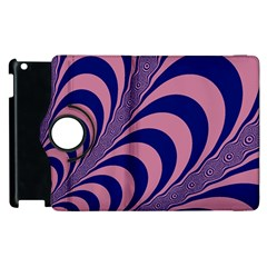 Fractals Vector Background Apple Ipad 2 Flip 360 Case by Nexatart