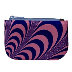 Fractals Vector Background Large Coin Purse by Nexatart