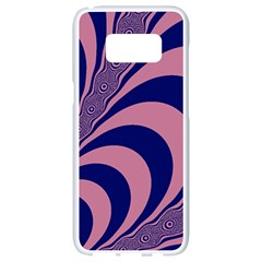 Fractals Vector Background Samsung Galaxy S8 White Seamless Case