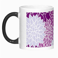 Floral Wallpaper Flowers Dahlia Morph Mugs by Nexatart