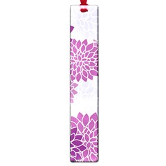 Floral Wallpaper Flowers Dahlia Large Book Marks