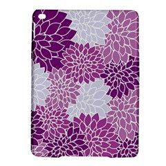 Floral Wallpaper Flowers Dahlia Ipad Air 2 Hardshell Cases by Nexatart