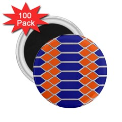 Pattern Design Modern Backdrop 2 25  Magnets (100 Pack)