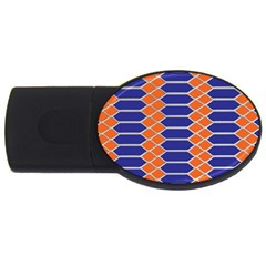 Pattern Design Modern Backdrop Usb Flash Drive Oval (2 Gb) by Nexatart