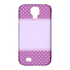 Purple Modern Samsung Galaxy S4 Classic Hardshell Case (pc+silicone) by Nexatart