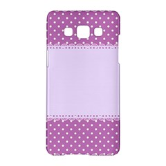 Purple Modern Samsung Galaxy A5 Hardshell Case