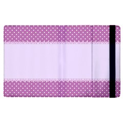 Purple Modern Apple Ipad Pro 9 7   Flip Case by Nexatart
