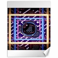Abstract Sphere Room 3d Design Canvas 12  X 16   by Nexatart